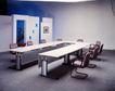 会议室0064,会议室,装饰,U型 会议桌 议事