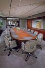 会议室0067,会议室,装饰,红木 会议桌 蓝色 垫块