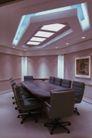 会议室0071,会议室,装饰,深色 会桌 角落