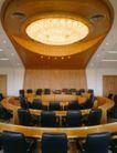 会议室0072,会议室,装饰,金融 圆桌 会议