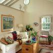 客厅0074,客厅,装饰,木茶几 插花 生机