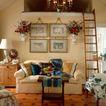 客厅0098,客厅,装饰,梯子 水果盘 生活居室