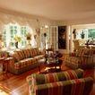 客厅0107,客厅,装饰,白格窗 红木地板 三角布置