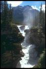欧洲风情0177,欧洲风情,世界风光,汹涌瀑布 奔腾直下 突兀岩石