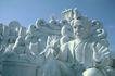 日本风情0042,日本风情,世界风光,石像 老人 雕塑