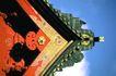 日本风情0056,日本风情,世界风光,红漆 屋檐 尖顶