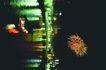 日本风情0061,日本风情,世界风光,江景 半空 烟花