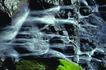 日本风情0065,日本风情,世界风光,假山 瀑布 细流