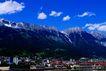 瑞士风情0004,瑞士风情,世界风光,雪山 山底 小镇 世外 宝地