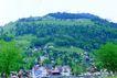 瑞士风情0023,瑞士风情,世界风光,青山 房屋 山脚
