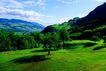 瑞士风情0026,瑞士风情,世界风光,绿野 山地 白云