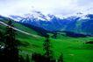 瑞士风情0028,瑞士风情,世界风光,山脉 树木 春季
