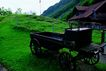 瑞士风情0030,瑞士风情,世界风光,车子 房屋 斜坡