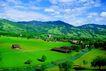 瑞士风情0033,瑞士风情,世界风光,民房 蓝天 矿野