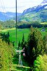 瑞士风情0037,瑞士风情,世界风光,电线 钢架 高原地区