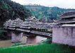 世界风情0052,世界风情,世界风光,桥头堡 水上 城堡