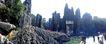 世界风情0091,世界风情,世界风光,石林 湖水 风光