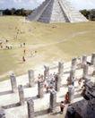 世界各地0080,世界各地,世界风光,金字塔 人群 旅游