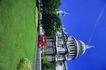 苏格兰风情0068,苏格兰风情,世界风光,草坪 圣殿 蓝天