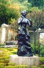 台湾风情0004,台湾风情,世界风光,塑像 跳舞 女郎 欢快 公园
