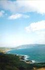 台湾风情0005,台湾风情,世界风光,海边 山脉 白云 蓝天 涨潮