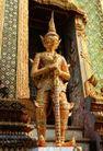 泰国风情0050,泰国风情,世界风光,守卫 雕琢 卫士