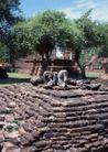 泰国风情0052,泰国风情,世界风光,紫黑 石坛 堆砌