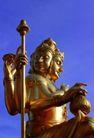 泰国风情0056,泰国风情,世界风光,金身 手握 权杖