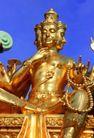 泰国风情0072,泰国风情,世界风光,三头 六臂 佛像