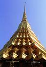 泰国风情0074,泰国风情,世界风光,仰视 佛塔 边棱