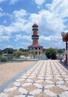 泰国风情0075,泰国风情,世界风光,花纹 广场 地面