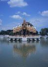 泰国风情0092,泰国风情,世界风光,水上 建筑 亭子