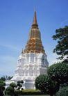 泰国风情0097,泰国风情,世界风光,蓝天 白云 佛塔