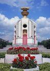 泰国风情0099,泰国风情,世界风光,陵墓 花坛 肃静