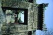 亚洲旅游0078,亚洲旅游,世界风光,古老 墙体 雕琢
