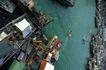 亚洲旅游0095,亚洲旅游,世界风光,码头 渔船 庙会