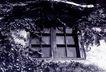 中国民间风情0160,中国民间风情,世界风光,老屋 黑白相片 房子 窗户