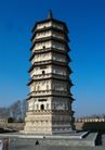 中国名胜0141,中国名胜,世界风光,大雁塔   蓝天    广场
