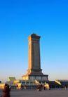 中国名胜0142,中国名胜,世界风光,石碑 广场 人群