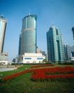 中国名胜0151,中国名胜,世界风光,现代化 高楼大厦 绿色化