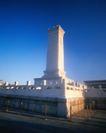 中国名胜0175,中国名胜,世界风光,纪念碑 肃穆气氛 晨光