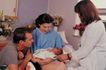 治疗护理0125,治疗护理,医学医药,寻问 帮助 救治 婴儿 住院