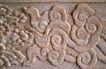 中国雕刻0056,中国雕刻,中华图片,祥云 雕琢 墙面