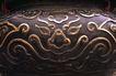 中国雕刻0057,中国雕刻,中华图片,紫色 房梁 纹理