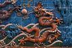 中国雕刻0069,中国雕刻,中华图片,红龙 飘浮 海洋