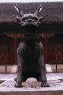 中国雕刻0076,中国雕刻,中华图片,麒麟 雄立 昂头