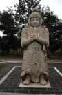 中国雕刻0091,中国雕刻,中华图片,石雕像 将军 战袍