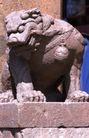 中国雕刻0092,中国雕刻,中华图片,石像 门庭 威严