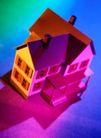 抽象拍摄0052,抽象拍摄,抽象,小屋 别墅 模型