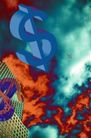 抽象拍摄0074,抽象拍摄,抽象,蓝色 美元 标志